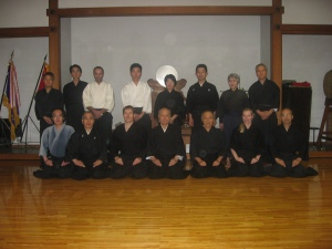 Group shot at Dojo