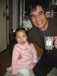 Dad and Kaho